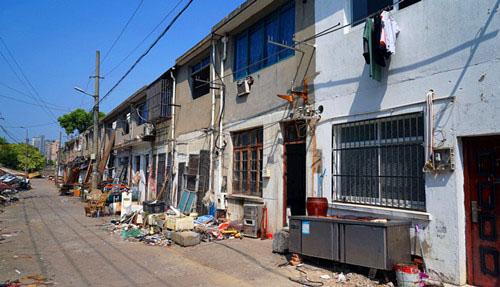 市城建档案馆对曹张新村棚改项目进行拍摄