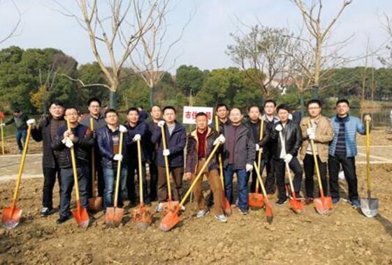 我局组织机关干部积极参加植树活动