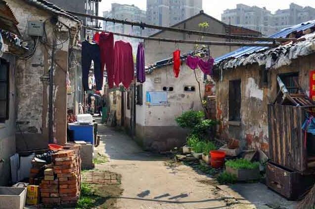 市城建档案拍摄南扬湾等棚户区改造项目影像